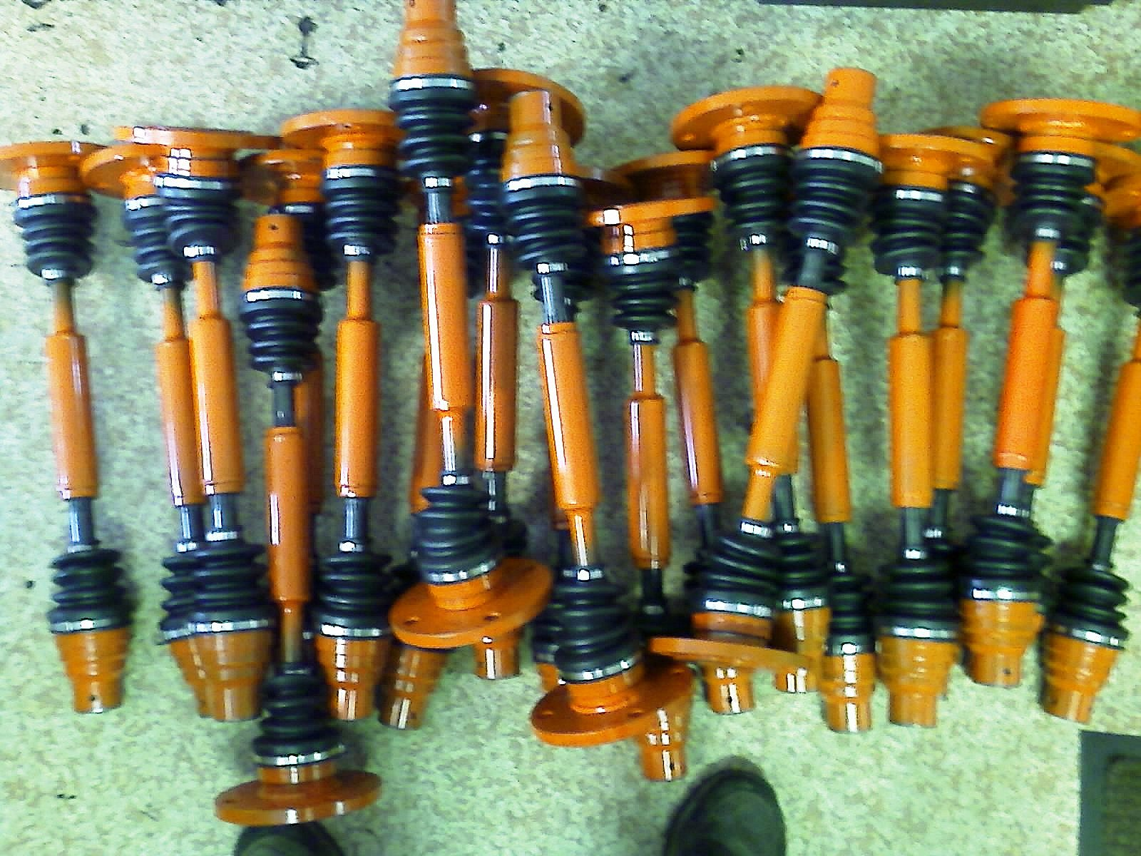 CV Shafts for extrusion CVO Industrial